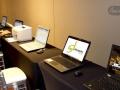 Alquiler de laptops en el Hotel Marriot